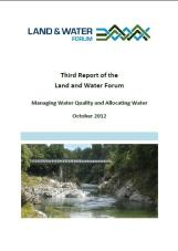 Third Report of the Land and Water Forum Nov 2012